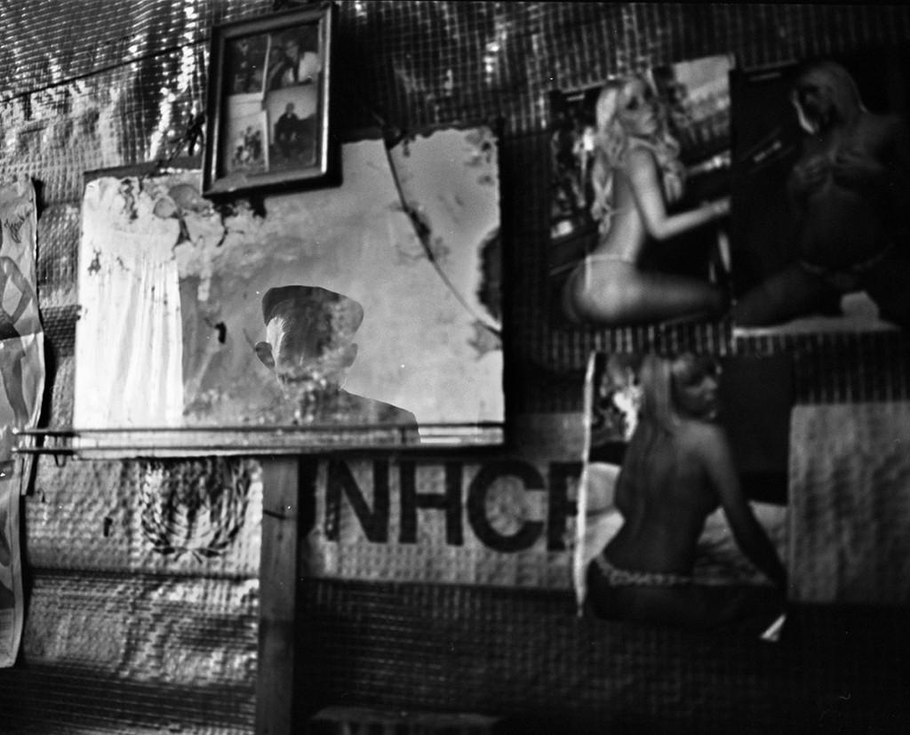 """Pavel Wolberg, """"Kosovo"""", 2009, b\w photograph"""