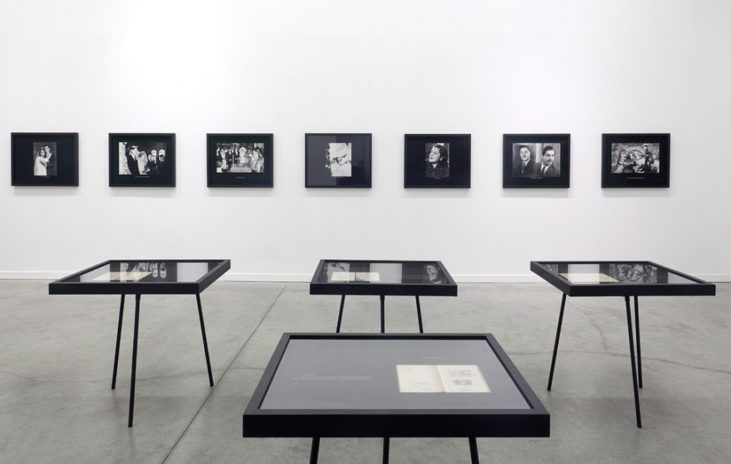 Dor Guez, Sabir, The Archive, 2011, exhibition view