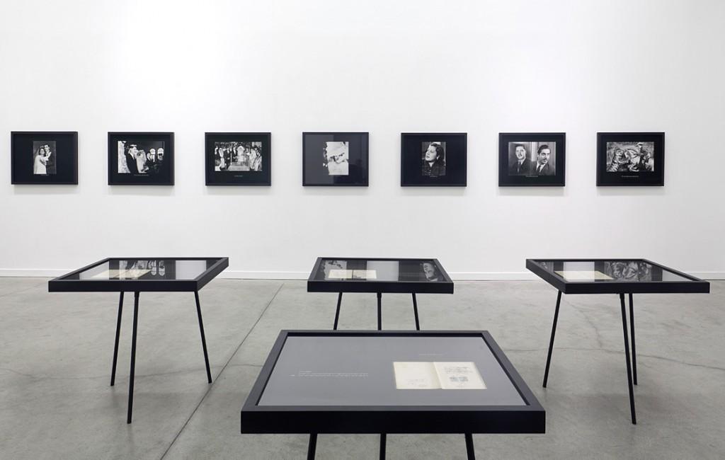 Dor Guez, Sabir, The Archive, 2011, Exhibition View