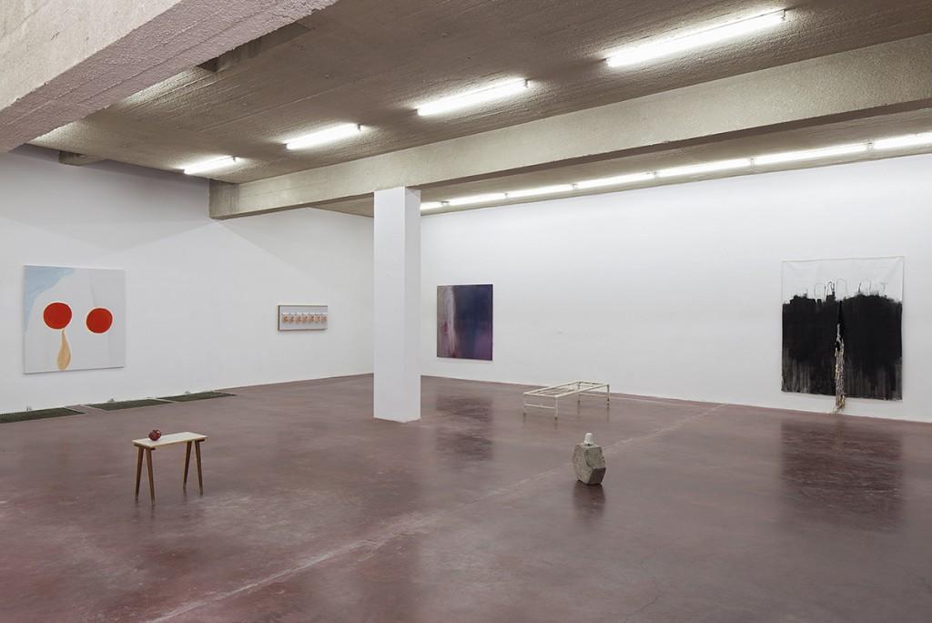 Les yeux seuls sont encore capables de pousser un cri, 2014, exhibition view