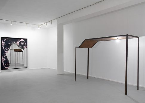 AT THE GATES OF JERUSALEM, A BLACK SUN IS ALIGHT, 2010, Exhibition view