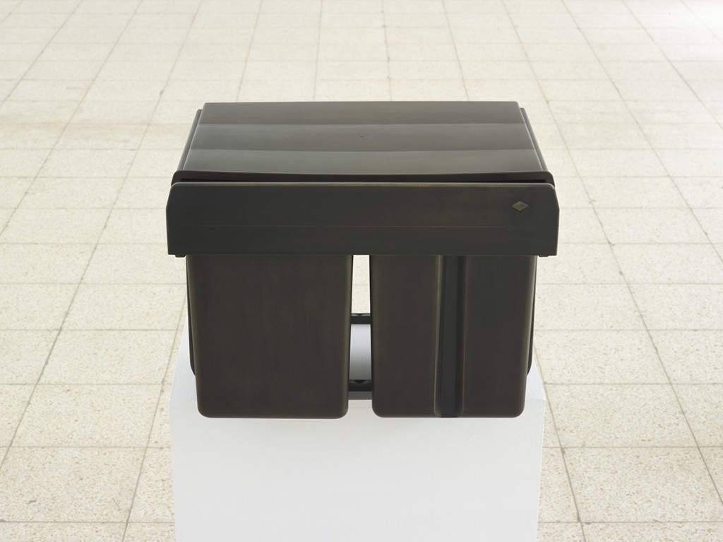 Simon Fujiwara, Ich (Trio Shorty), 2015, mixed media and bronze gilding, 45 x 69 x 44.5 cm