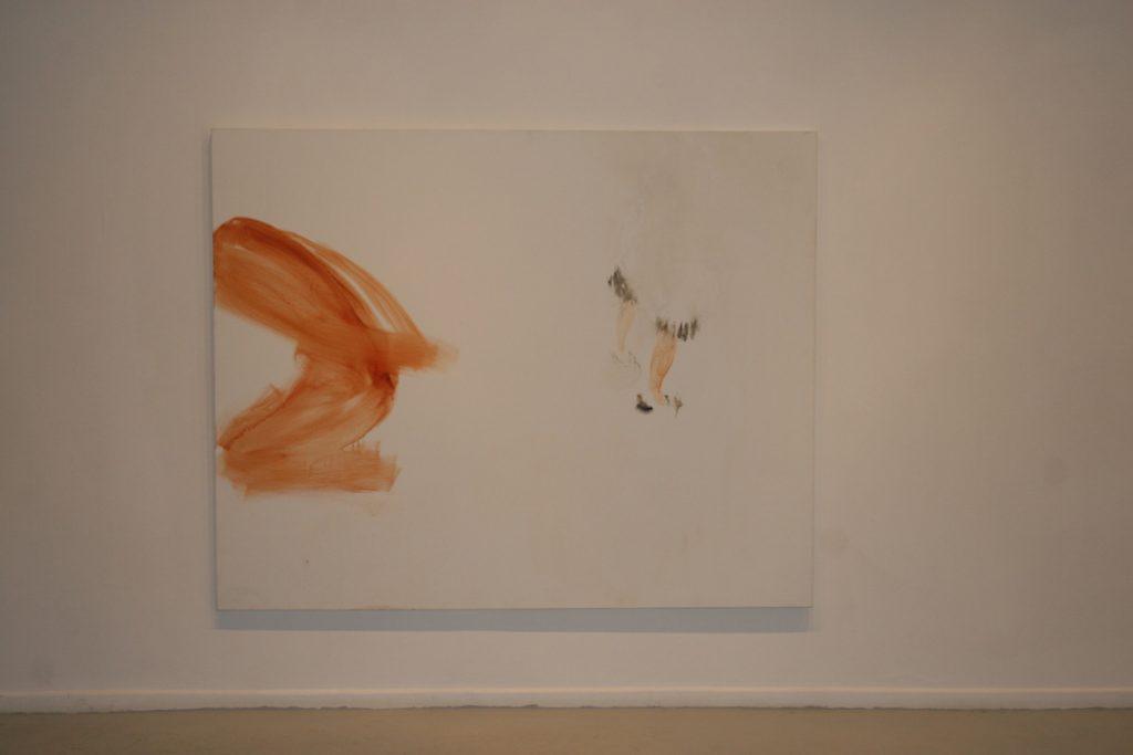 Yehudit Levin, Hawara Checkpoint 2, 2007, acrylic on canvas, 200 x 160 cm