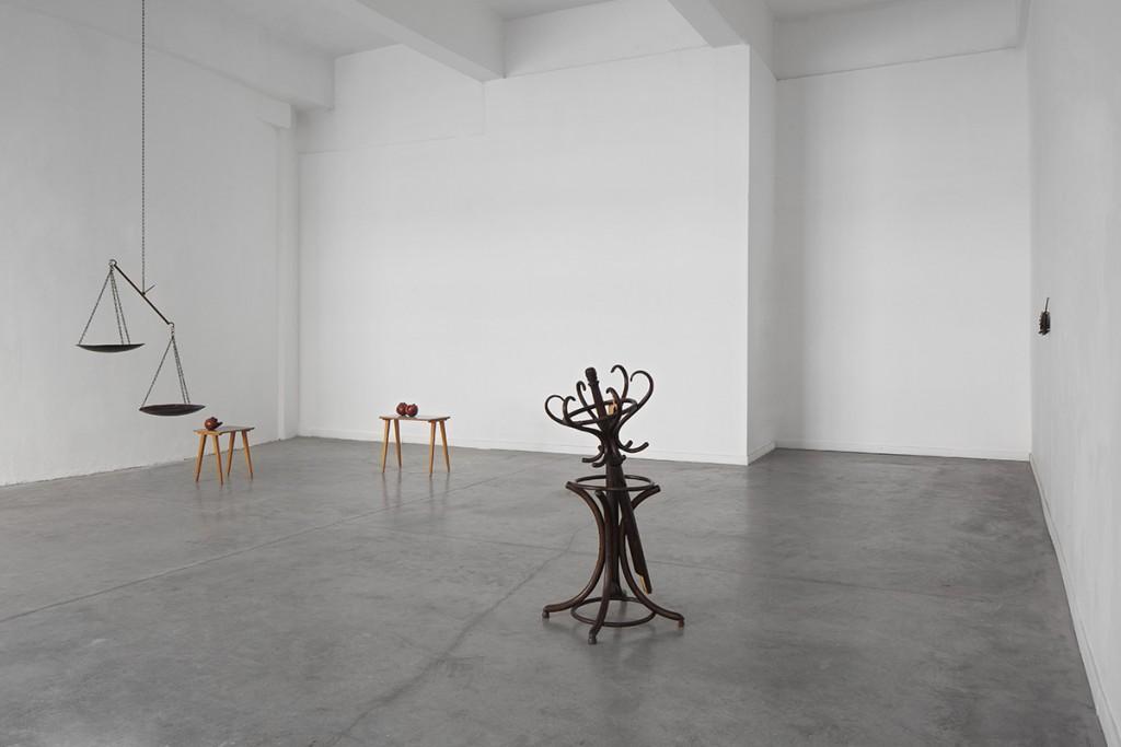 Latifa Echakhch, Bait, 2013, Nitzana space, Exhibition View