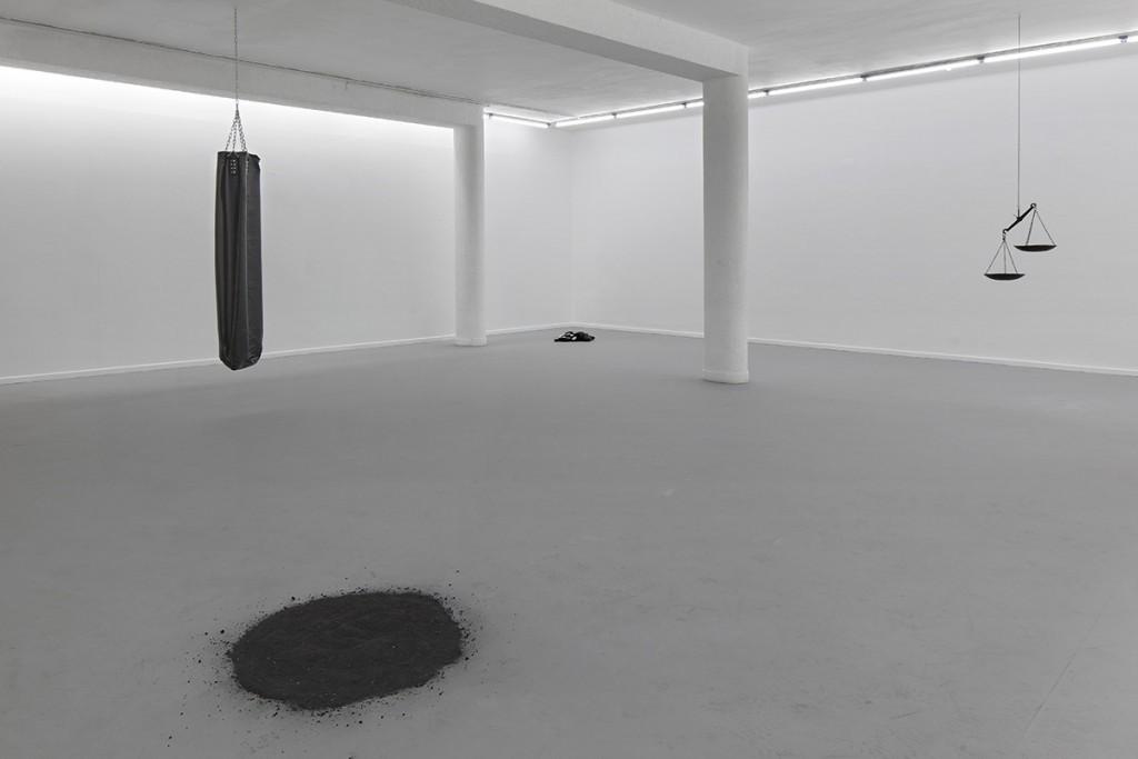 Latifa Echakhch, Bait, 2013, Nahum space,  Exhibition View