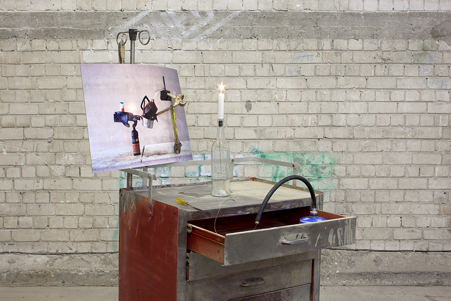Ghost Rider, 2010, Exhibition view