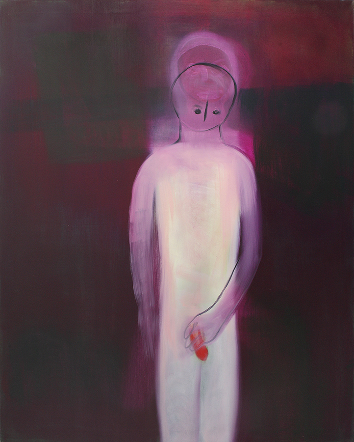 Miriam Cahn, soldat, 2010, oil on canvas, 145 x 115 cm, unique
