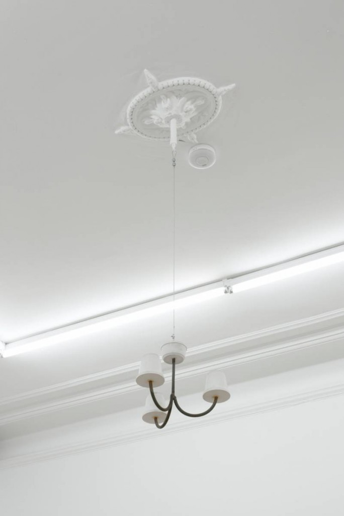 Miroslaw Balka, 34x34x27, 2007, steel and plaster, 34 x 34 x 27 cm