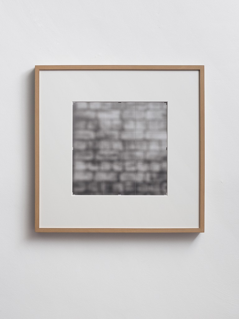 Moshe Ninio, Crop [wall], 1996 - 2014, Inkjet print, 100 x 100 cm, edition of 3