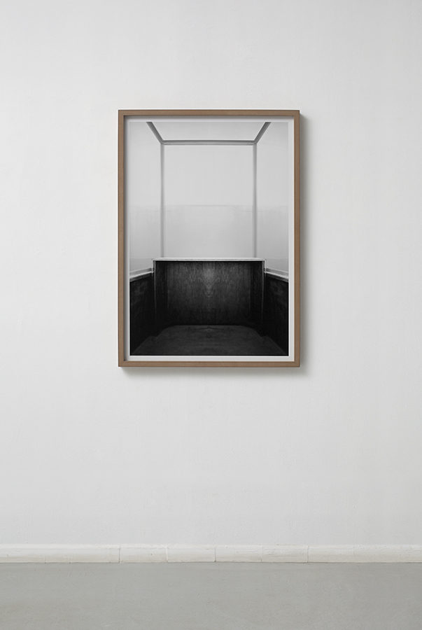 Moshe Ninio, Glass III, 2011, three units pigment print, 100 x 77.2 cm each