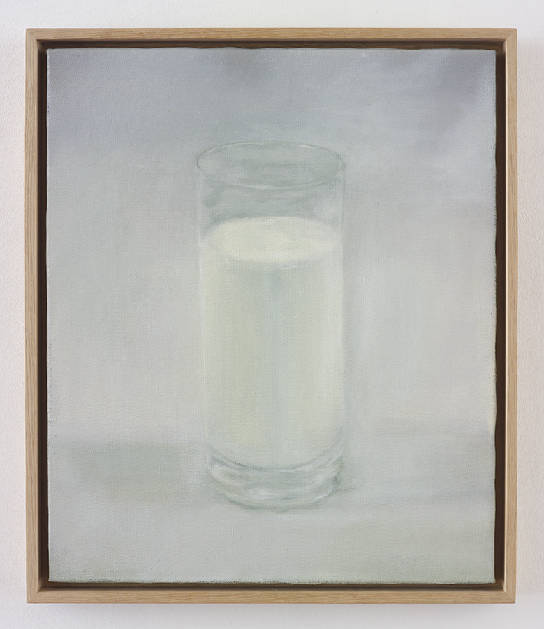Lactose/Intolerance (Nostalgic Style), 2015, oil on canvas, 63.5 x 54.5 x 5 cm