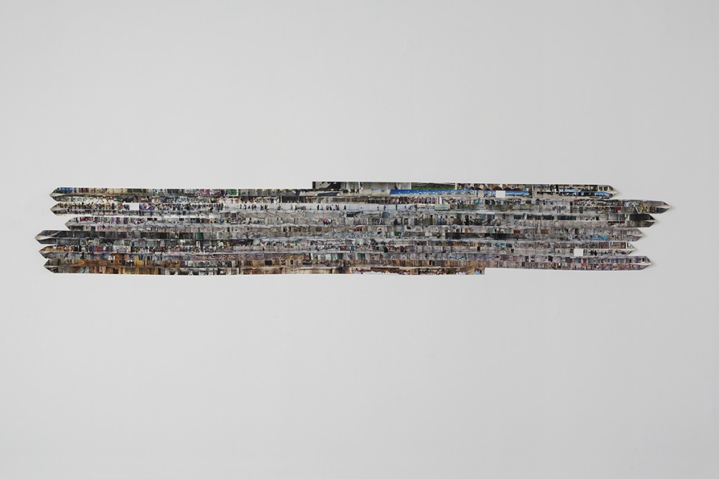 Shilpa Gupta, 2652-1, 2010, archival print on canvas, 65x335 cm