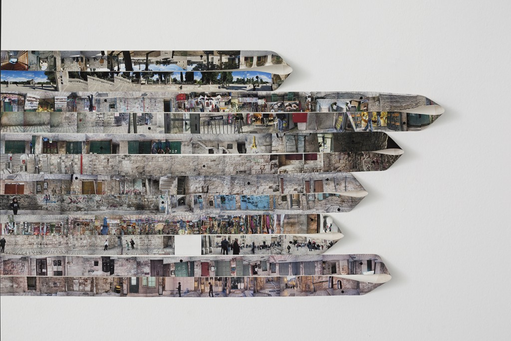 Shilpa Gupta, 2652 -1, 2010, archival print on canvas, 65x335 cm