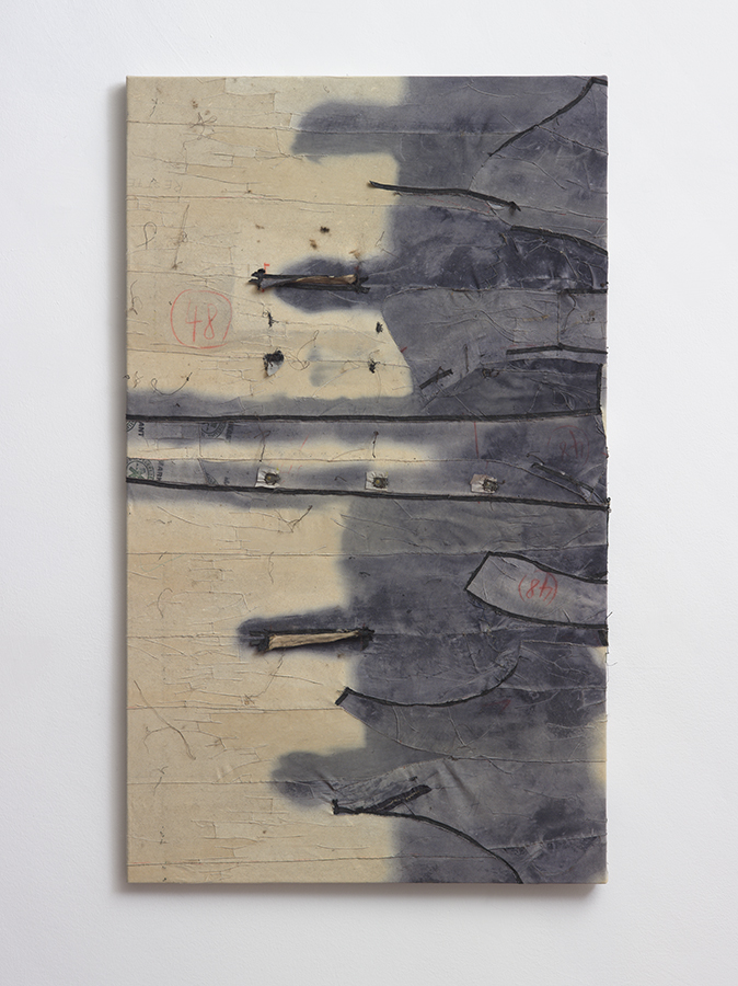 Simon Fujiwara, Fabulous Beasts, 2015, shaved fur coat, 130 x 77 x 3 cm, unique