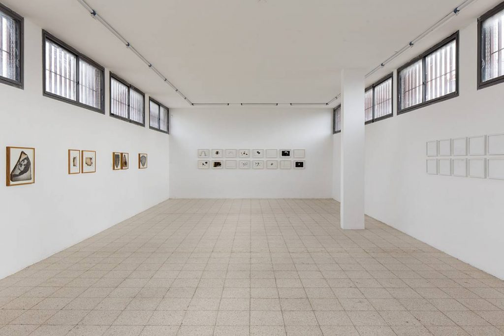 Works on Paper, 2014, exhibition view