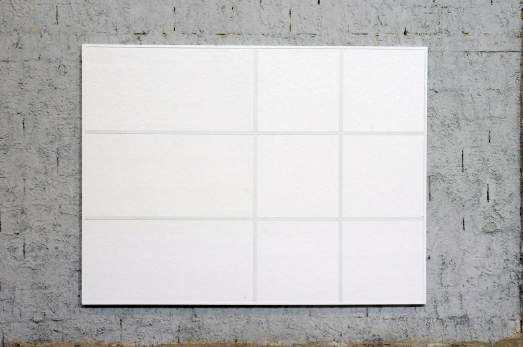 "Barak Ravitz, ""Random 1"", 2010, 183x244 cm, fiberglass tiles, aluminum"