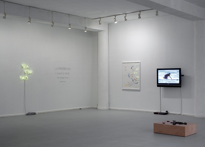 Homage to Bas Jan Ader, 2011, Exhibition view