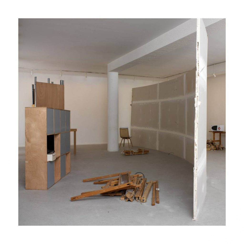 Solo show, 2005, exhibition view