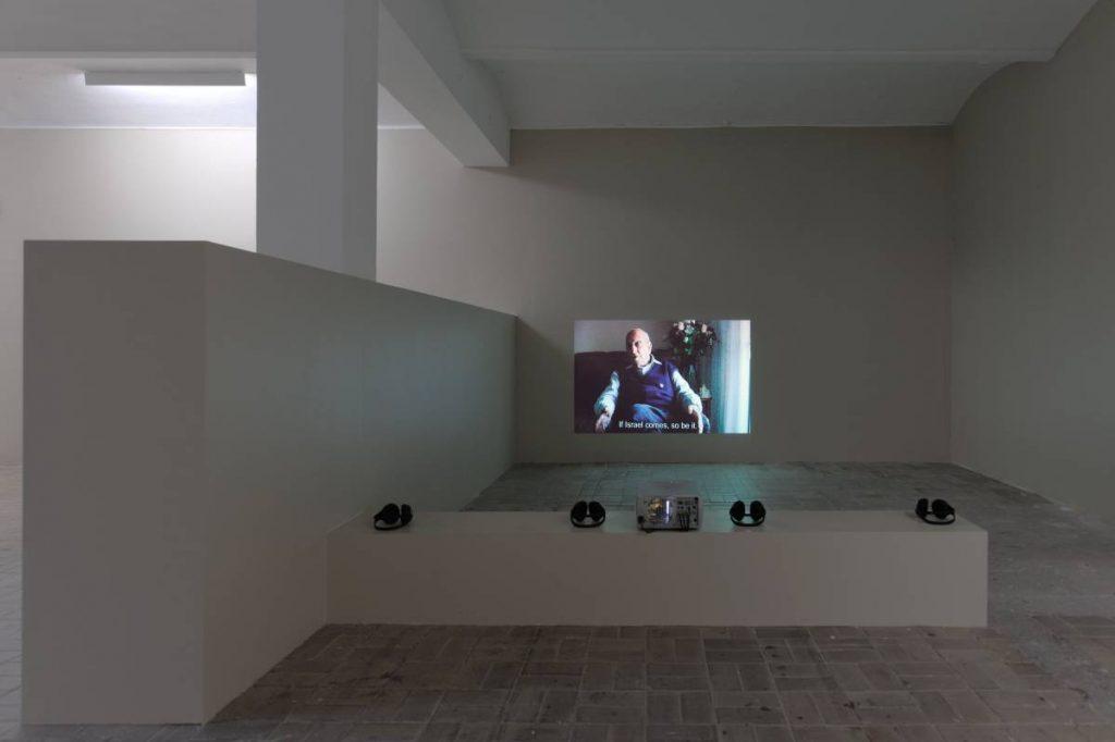 Dor Guez, Al-Lydd, 2010, Exhibition view, KW, Berlin