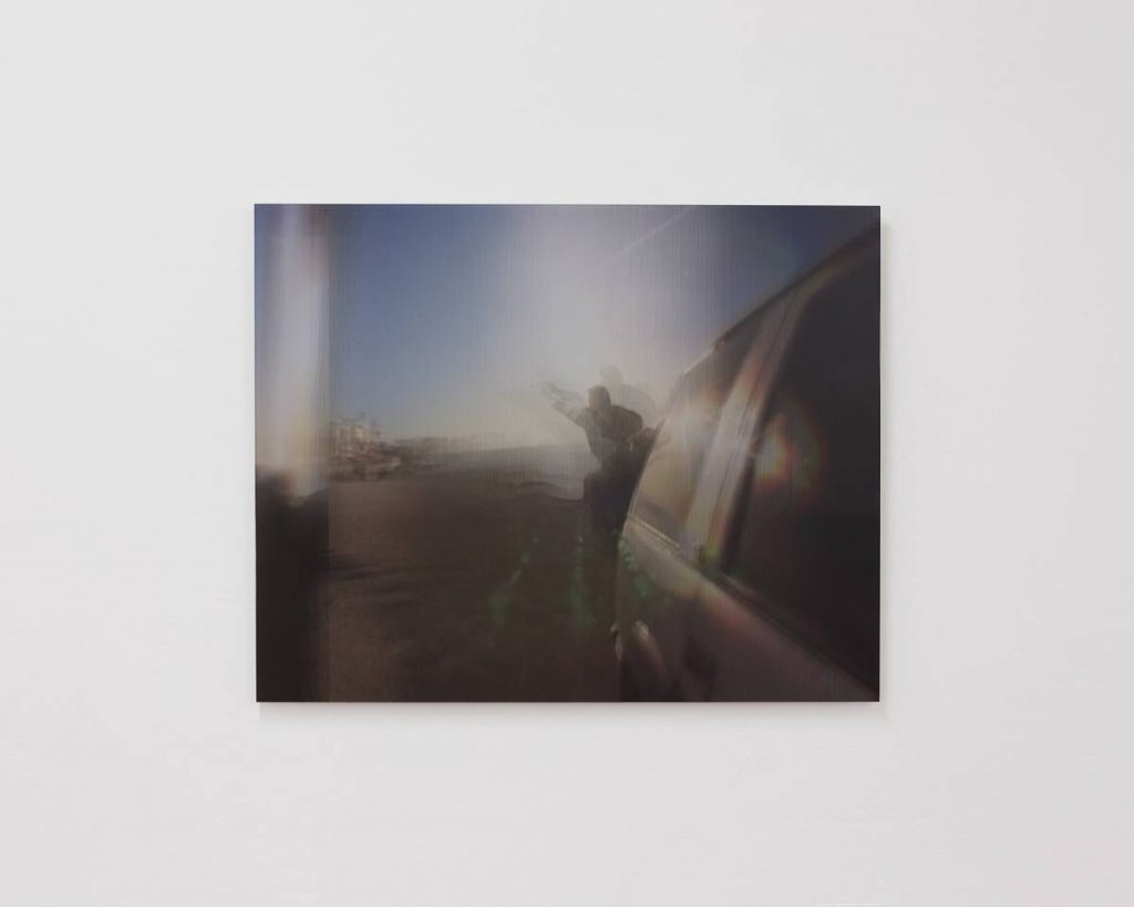Miri Segal, 24p, 2016, lenticular print of 24 video stills, 57x72x0.5 cm, Edition of 6+ 1AP