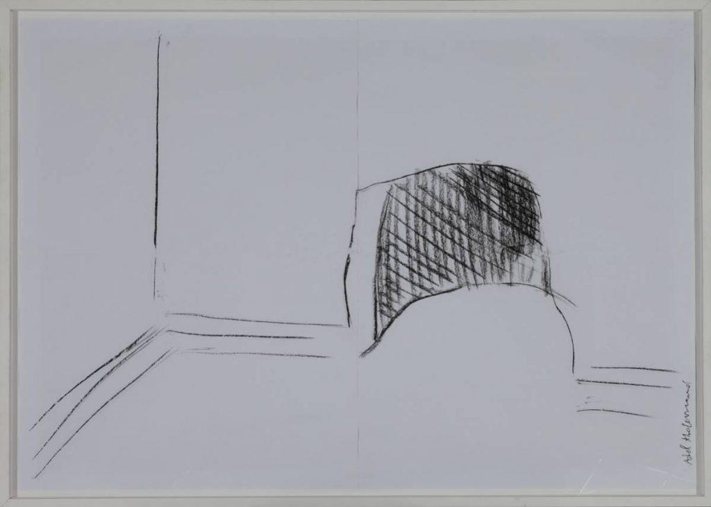 Adel Abdessemed, Abris Anti Atomique 1, 2006, 130 x 200 cm
