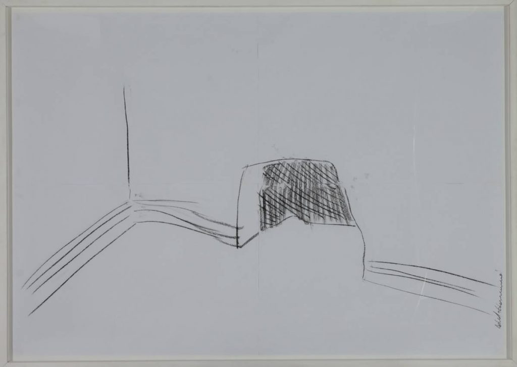 Adel Abdessemed, Abris Anti Atomique 2, 2006, 130 x 200 cm