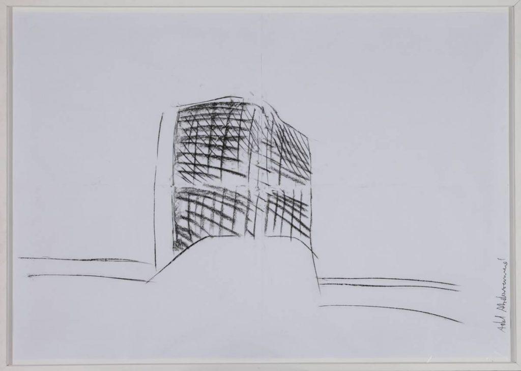 Adel Abdessemed, Abris Anti Atomique 3, 2006, 130 x 200 cm
