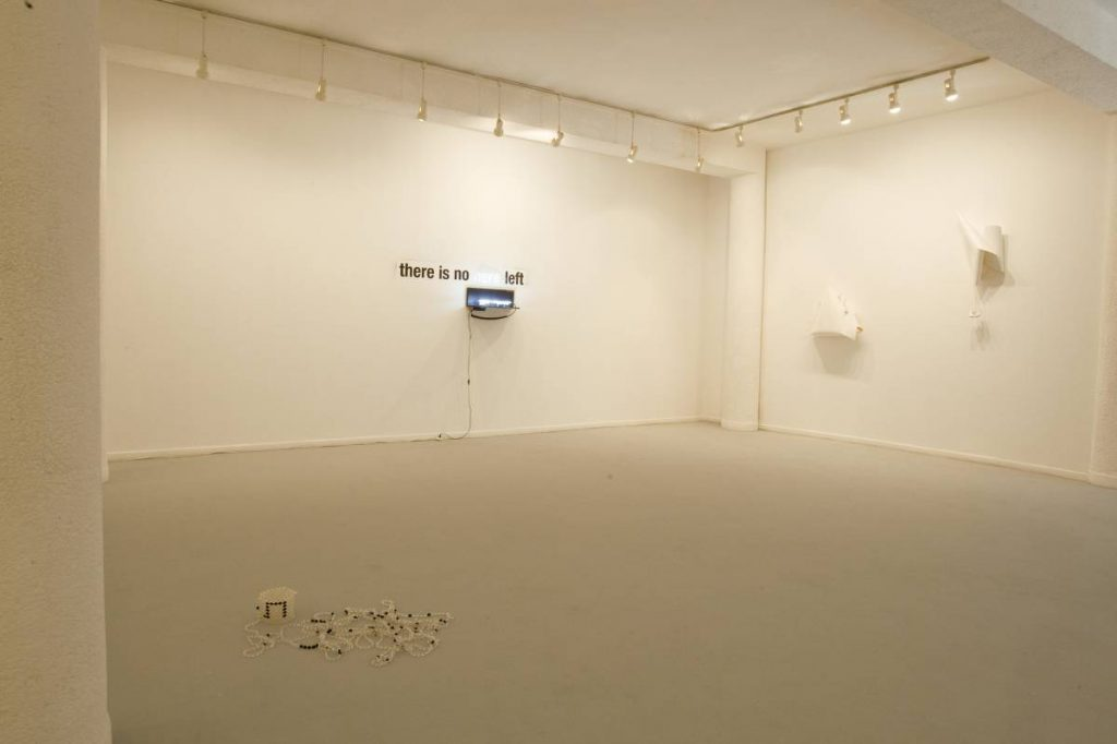 Baken-Sammler, 2008, exhibition view
