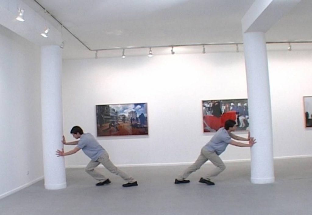 Barak Ravitz, Let my soul die with the Foylshteek, video, 6min, 2008