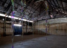 Lichtkiele, 2010, Exhibition view