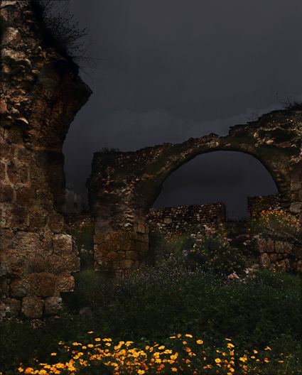Dor Guez, Lydd Ruins 5, 2009, c-print, 80 x 100 cm, edition of 5, 120 x 150 cm, edition of 3