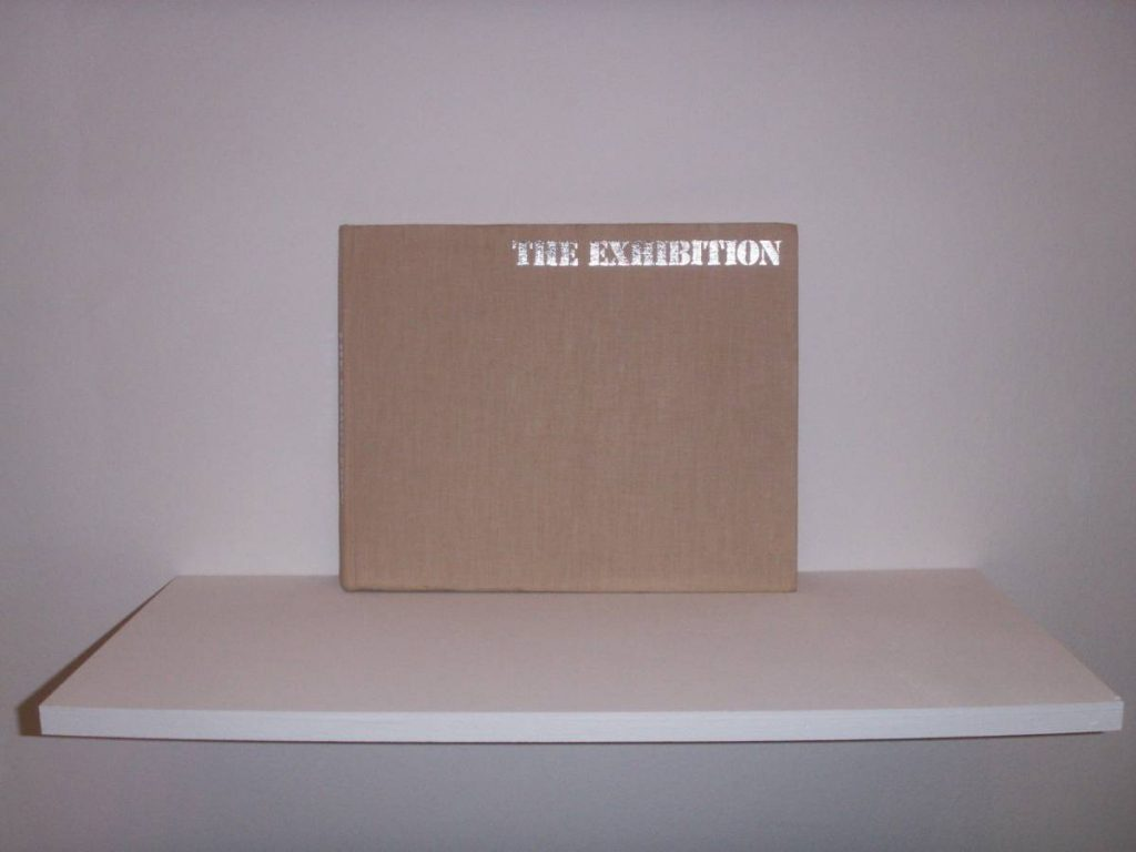 "Francesc Ruiz, An homage to Maris Bishof's ""The Exhibition"", 2006, book intervened, 25 x 30.5 cm"