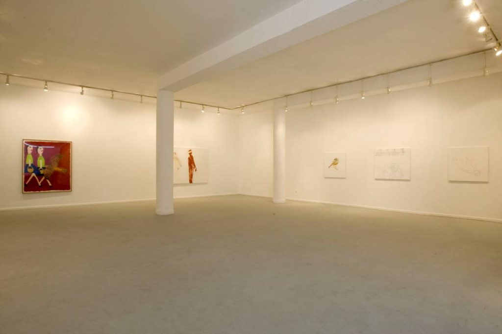 Group show, 2008, Exhibition view