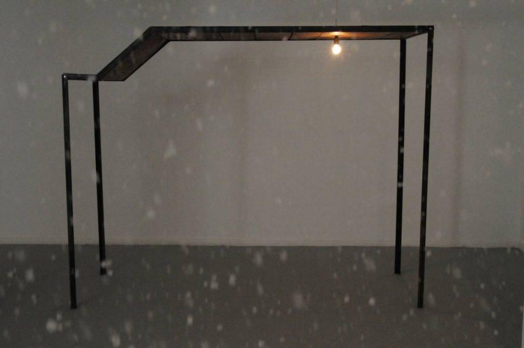 "Miroslaw Balka, ""255x200x91 "", 2009, Steel, wood, 255x200x91 cm"