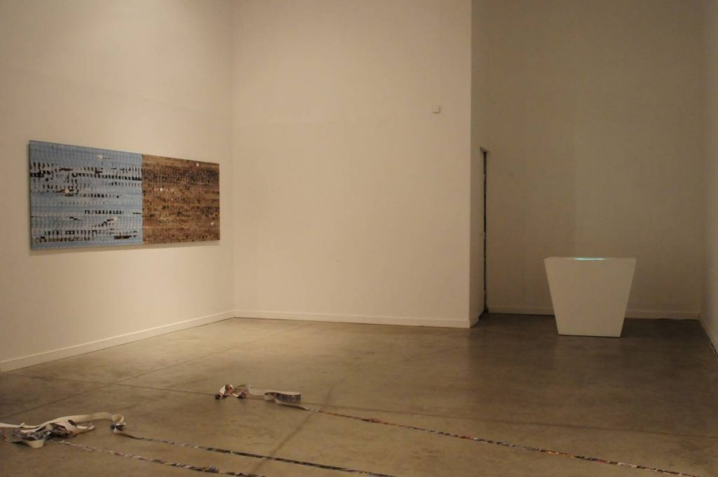 Shilpa Gupta, 2652, 2010, exhibition view