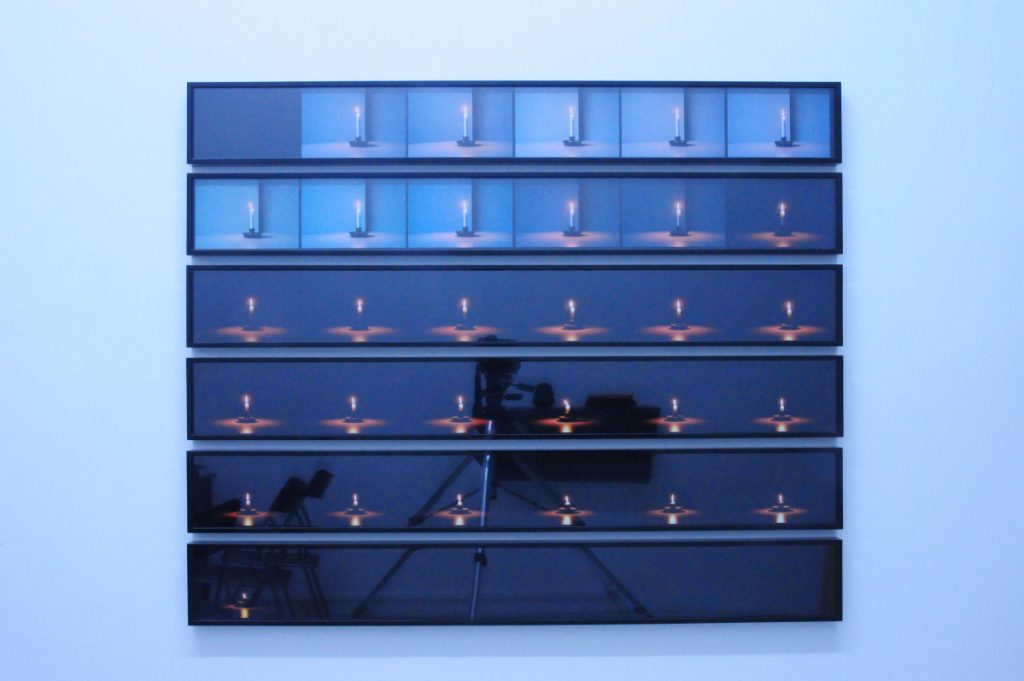 Candle Photograph, 2009, set of 6, 16.5x130 cm each