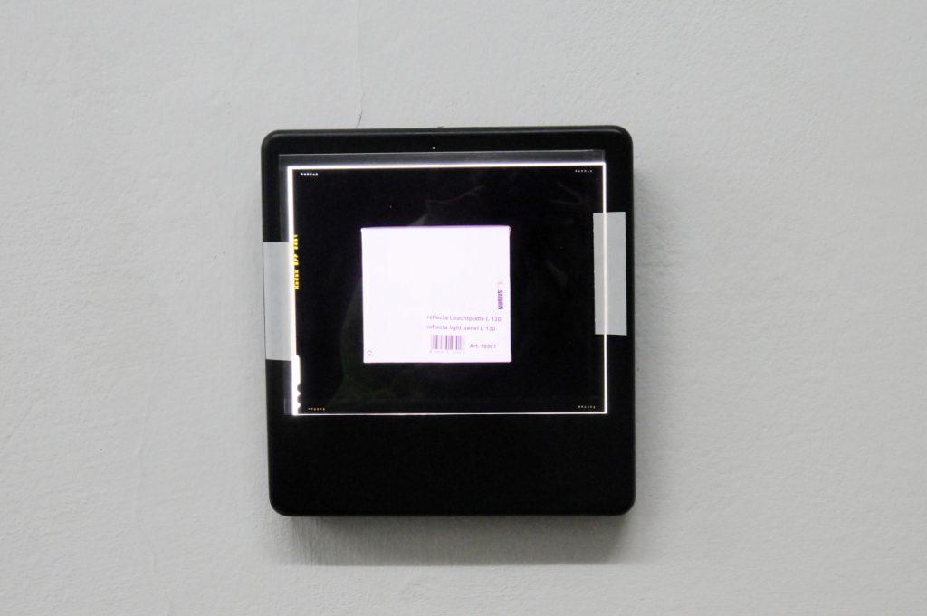 Jonathan Monk, Light box, box, 2009
