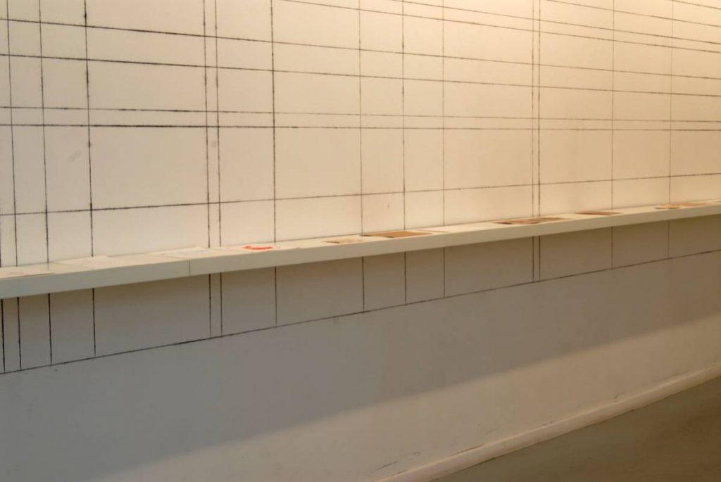 Matan Daube, Fibonacci Rabbit sequence, 2006, mixed media