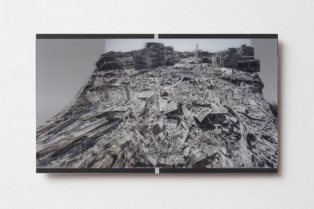Miri Segal, Gaza Stripped Bare ... (keepsake), 2014, 3D-print, 30 x 50 cm, Edition of 5 + 2AP