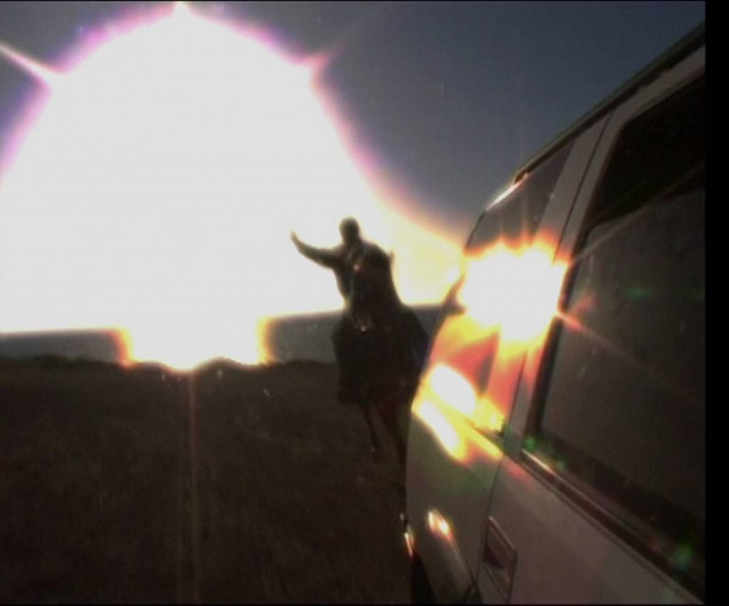 Miri Segal, The Man Who Shot the Sun, 2007, digital photography, 100x110 cm