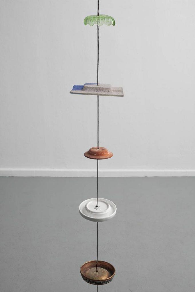 """Miroslaw Balka,""""345x21x21"""", 2010, steel, ceramic glass ,345x21x21 cm"""