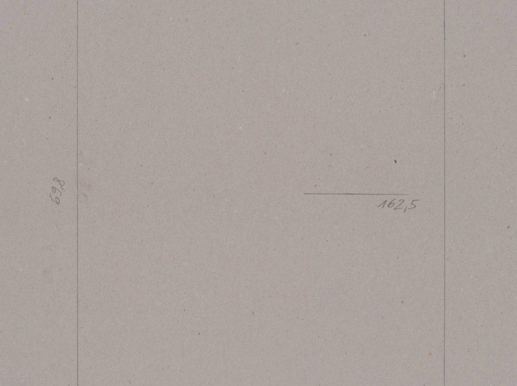 Miroslaw Balka, Modulor  AF  1944, 2015, pencil on cardboard, 258 x 148 x 4 cm