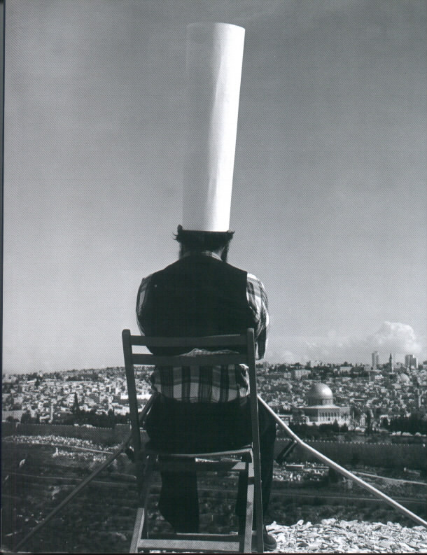 Motti Mizrahi, King of Jerusalem,1973, black and white photo, a copy 1/6, 102X120 cm