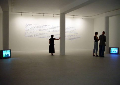 Negotiations, 2003, exhibition view