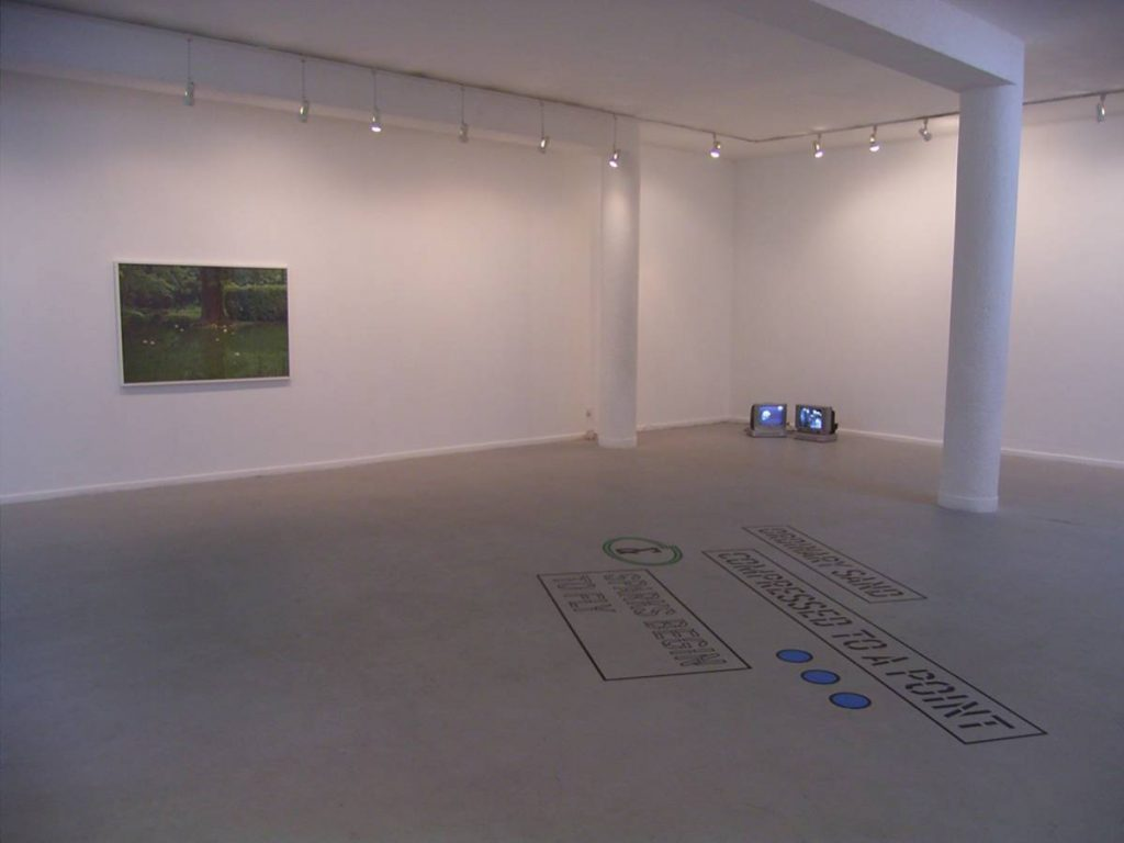 Mes amis, 2008, Exhibition view