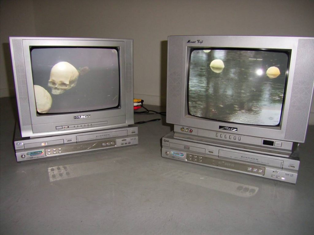 Douglas Gordon, Iles Flottantes, 2008, Video diptych, edition of 5 + 2 AP