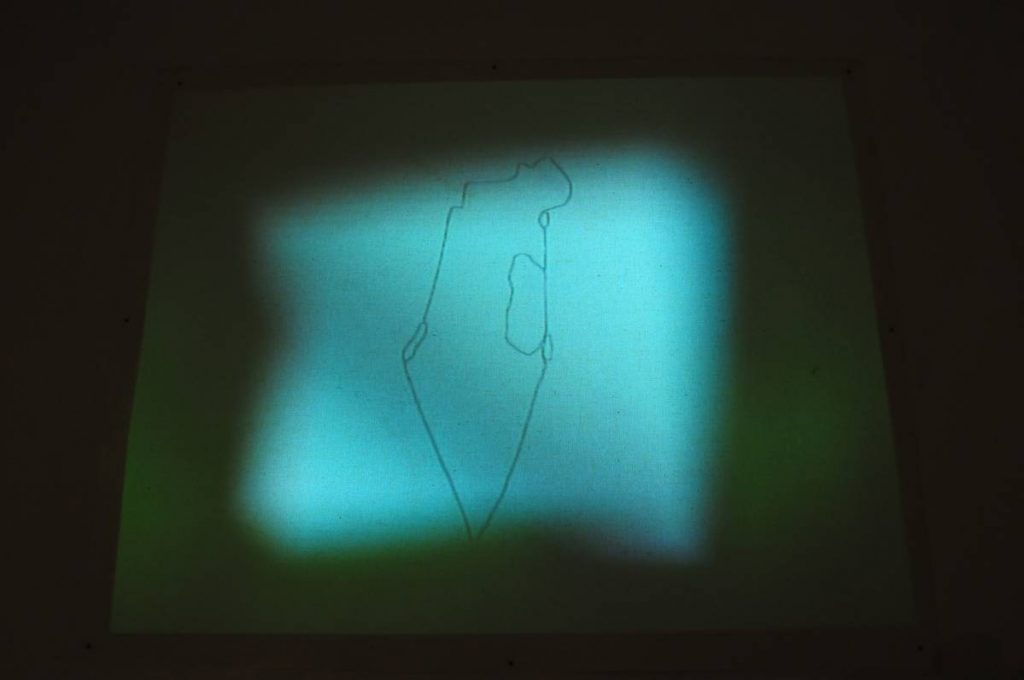 Shilpa Gupta, 100 Hand drawn Maps, 2010, video projection, size variable, edition of 5 + 2 AP