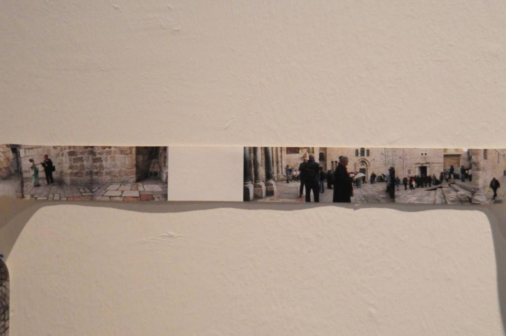 Shilpa Gupta, 2652-1, 2010, archival print on canvas, 42 meters x 4 cm, edition of 3 + 1 AP