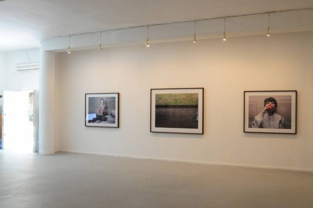Solo show, 2010, exhibition view