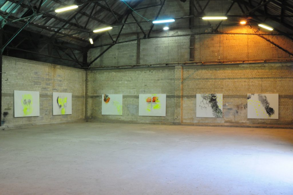 White Phosphorous, 2010, Exhibition view